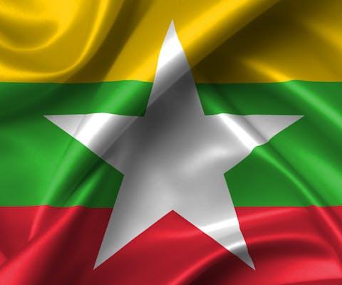 Vlag Myanmar