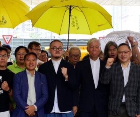 Paraplubeweging Hongkong