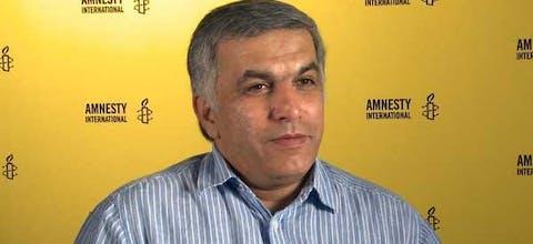 Nabeel Rajab is in Bahrein veroordeeld tot 5 jaar gevangenisstraf vanwege berichten op Twitter