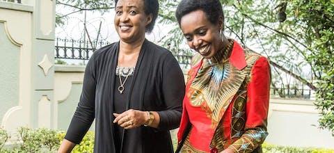 Diana Rwigara en haar moeder Adeline Rwigara, Rwanda