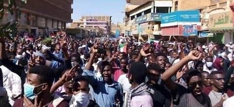 Sudan, dodelijk geweld door veiligheidstroepen