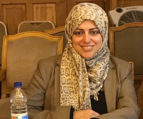 Vrouwenrechtenactivist Nassima al-Sada uit Saudi-Arabië zit gevangen vanwege haar mensenrechtenwerk