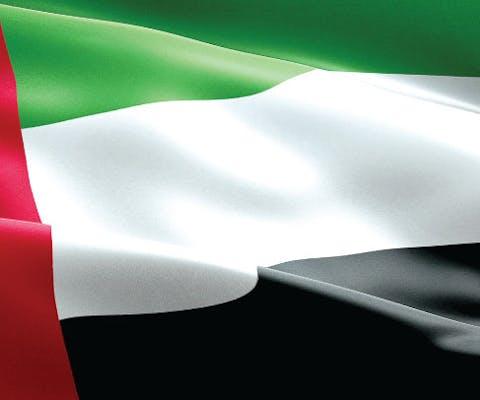 vlag Verenigde Arabische Emiraten; journalist Al-Najjar uit Jordanië vrijgelaten