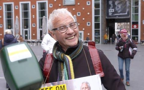 Ben, collecte-coördinator in Nijmegen