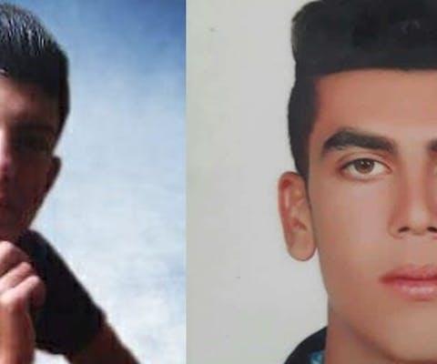 Mehdi Sohrabifar en Amin Sedaghat uit Iran werden eerst gegeseld en daarna ter dood gebracht