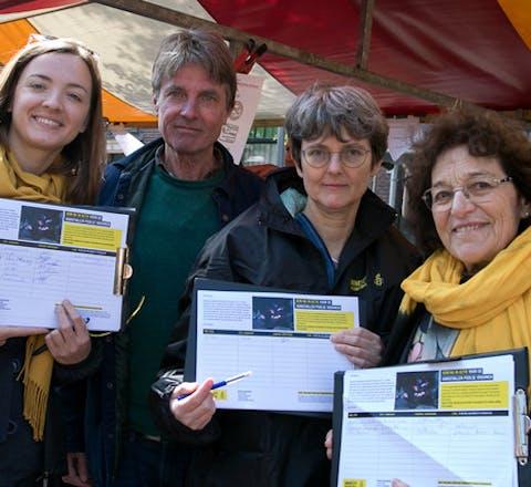 Amnesty Leiden verzamelt handtekeningen