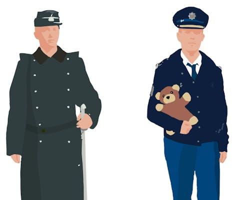 Uitrusting van agenten door de jaren heen