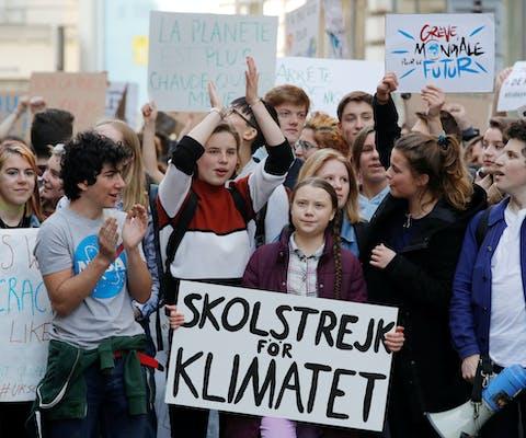De Zweedse klimaatactivist Greta Thunberg heeft Amnesty's Ambassador of Conscience award 2019 gewonnen