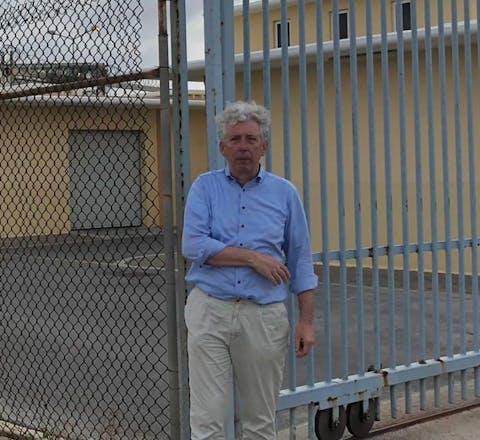 Eduard Nazarski op Curaçao, juni 2019
