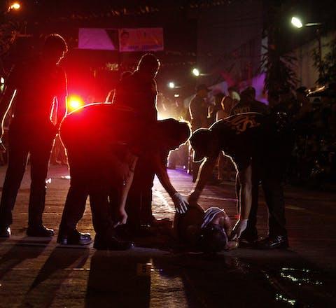 Filippijnen - oorlog tegen drugs