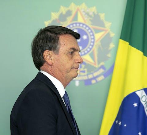 Braziliaanse president Jair Bolsonaro