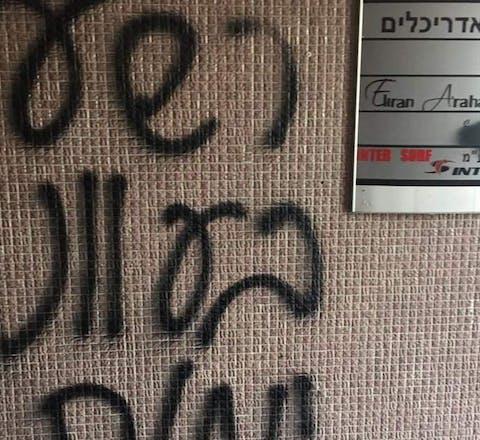 Amnesty-kantoor is Israël beklad met doodsbedreigingen