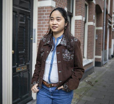 Nang Pann Ei Kham in Amsterdam