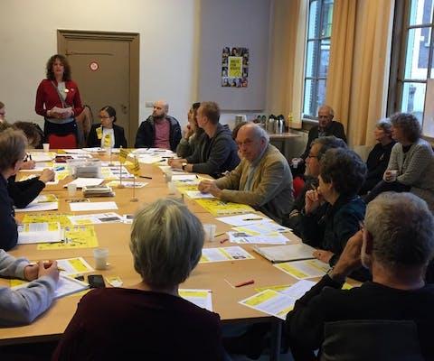 W4R actie door Amnesty Leiden