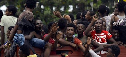 Politiek, etnisch en relegieus geweld in Ethiopïë