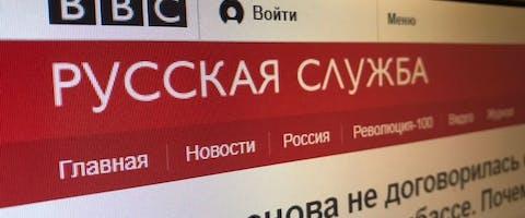 Rusland legt persvrijheid op internet aan banden door buitenlandse en vanuit het buitenland gefinancierde nieuwsmedia als 'buitenlandse agenten' (lees: spionnen) te bestempelen en restricties op te leggen