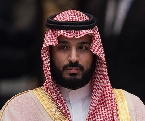 Kroonprins Mohammed bin Salman van Saudi-Arabië