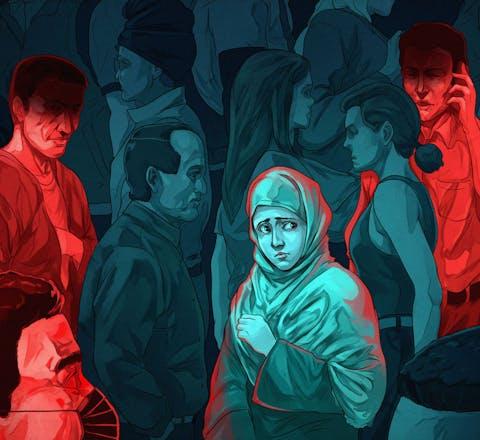 Oeigoerse vrouw vreest in de gaten te worden gehouden