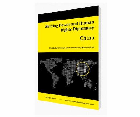 Cover of Shifting Power and Human Rights Diplomacy: China