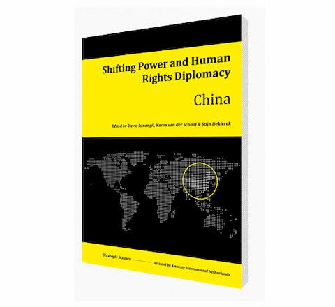 Cover of Shifting Power and Human Rights Diplomacy: China