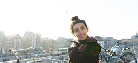 Djuna Josepa, peer educator bij Amnesty