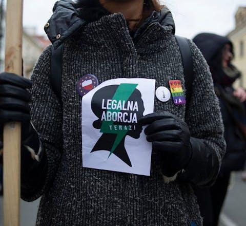 Oproep voor wettelijke toegang tot abortus tijdens internationale vrouwendag, 8 maart, Warschau