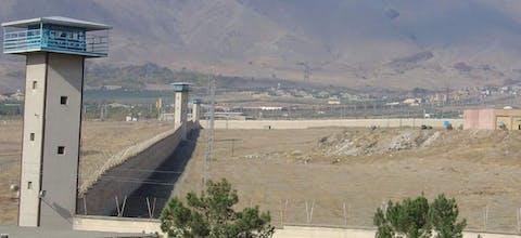 De Rajai Shahr-gevangenis in Karaj, Iran