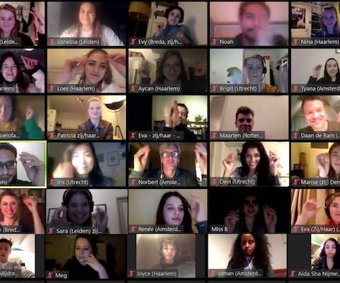 online bijeenkomst #LetsTalkAboutYES, 26 maart 2020