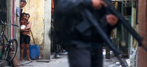 Militaire politie in Brazilie