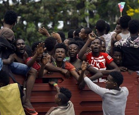 Onrust in Ethiopië