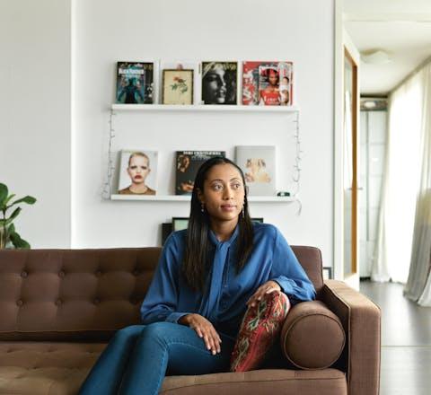 Celine Fransberg, vrijwilliger voor Amnesty International