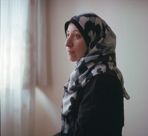 Amani Ballour in Gaziantep, Turkije.