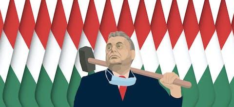 De regering van premier Viktor Orbán holt de rechtsstaat in Hongarije uit