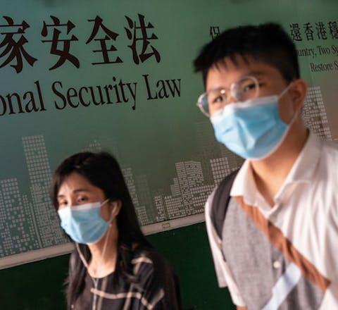 Er zijn grote zorgen voor de mensenrechten in Hongkong nu China de nationale veiligheidswet heeft aangenomen
