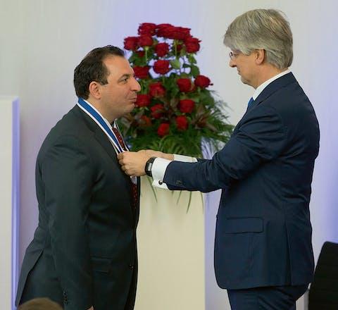 Mazen Darwish krijgt op 21 april een van de Four Freedom Awards in Middelburg.