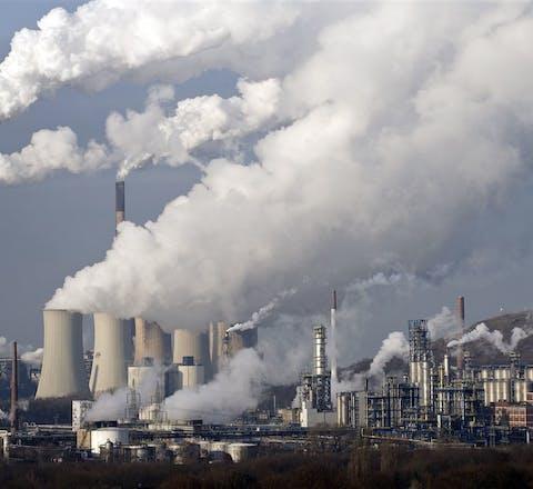 coal power station in Gelsenkirchen, Germany
