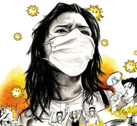 Activisten extra belaagd onder het mom van corona-aanpak